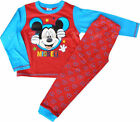 DISNEY  MICKEY MOUSE RED COTTON Pyjama Set BNWOT ages 2-3  OR 4-5