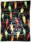 Embroidered Microwave Baked Potato Bags - 100% Cotton Fabric & Handmade