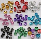 Wholesale 300pcs Aluminum Metal Tube Spacer Beads 6mm for Jewelry Making
