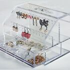 Jewelry Storage cosmetic Organizer Box Case  Ring Necklace Earring Pendant Boxes