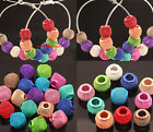 20pcs Assorted Color Metal Mesh Spacer Beads for Basketball Wives Earrings