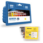 1 COMPATIBLE YELLOW BROTHER DCP MFC PRINTER INK CARTRIDGE LC985 / LC39
