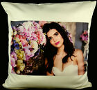 "Personalised Cushion Covers Printed Text Photo 40cm X 40cm (16"") Custom Made"