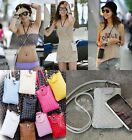 New Women Wallet Purse Woven Coin Cell Phone Case Mobile Pouch Mini Shoulder Bag