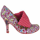 NEW IRREGULAR CHOICE *FLICK FLACK* DITSY FLORAL/SPOTTY SHOE BOOTS in size 36-43