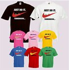 "T-Shirt ""Just do it Tomorrow"" Funshirt Party Fun Spass Spruch Kult"