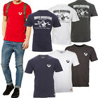 TRUE RELIGION BRAND JEANS T-SHIRTS - MENS BOYS TOPS CREW NECK NEW -100% ORIGINAL