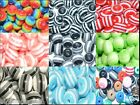 50pcs solid colours round striped resin beads  8mm
