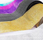10 YD 30FT  Diamond Rhinestone Ribbon Mesh Wrap Wedding Party Floral Decorations