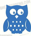 Owl Eyes Open HOOT for Wall Car Mirror Vinyl Decal Your Color Choice Sticker