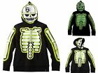 Tony Hawk Boys Sweatshirt 8 10/12 14/16 18/20 Full Face Hoodie Skeleton Camo NWT