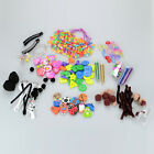 Go Create Mini Kits Crafts Children Kids Buttons Beads Keyring Glitter Sequins