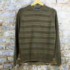 Quiksilver New Knitted Stripped Casual/Sport/Sweater/Jumper Brown UK size S/XL
