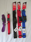 Brand New Four Paws Adjustable Nylon Dog/Cat/Pet Collar Multiple Colors & Sizes