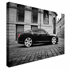 bentley continental GT Canvas Wall Art Print Large + Any Size