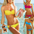 Fashion Sexy Hot Womens Bikini Set Swimsuit Beach Swimwear Padded Bra & Bottom