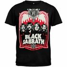 BLACK SABBATH - RED FLAMES - OFFICIAL MENS T SHIRT