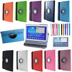 360°Flip Stand Leater Case Cover for Samsung Galaxy Tab 2 10.1 GT-P5100 GT-P5110
