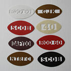 Unique Personalised Table Confetti Rugby Balls & Name Birthday Party Celebration