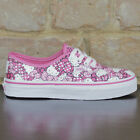 Vans Kids Hello Kitty Authentic Trainers new box in Pink UK Size 11,13,1,2,3