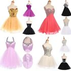 5 Style 2014 Mini Formal Prom Dresses Short Gown Evening Party Bridesmaid Dress
