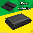 Rubber LDPE  Flexible Fish Pond Liner 40yr Guarantee with FREE Underlay