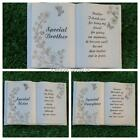 Funeral Graveside Grave Memorial Book Butterfly Design VARIETY