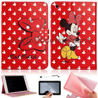 Disney Mickey Minnie PU Leather Smart Cover Case Gift For Apple iPad Mini 1/2/3