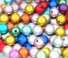 3D round acrylic miracle acrylic beads in various sizes and colours