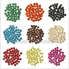 Wholesale 300pcs Round Wood Ball Spacer Loose Beads 7x8mm