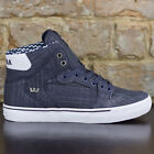 Supra Vaider Skate Shoes Trainers new in box Blue UK Size 7,8,9,10,11
