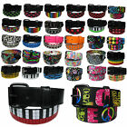 New Pyramid Conical Printed Studded Mens Womens Belt with Removable Buckles