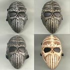 Full Face Mesh Wire Eyes Protection Multi-color Paintball Airsoft Skull Mask