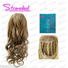 "Stranded Wag in a Bag 18"" Synthetic Half Head Wig Curly 3/4 Piece –Sabrina"