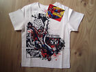 Children Kids Boy/Girl White Spiderman Short Sleeve T-Shirt/Top Marvel Ultimate