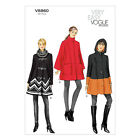 Vogue V8860 Sewing Pattern Misses' Coat - Loose Fitting - Lined - Very Easy