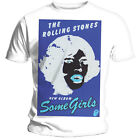 THE ROLLING STONES - BLACK AND BLUE (SOME GIRLS) - OFFICIAL MENS T SHIRT
