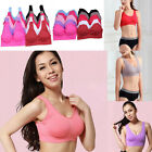 Women Seamless Shapewear Bras Sports Bra Crop Top Vest Comfort Sleep Yoga Bra