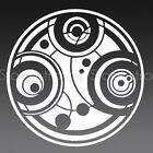 3 IN SEAL OF PRYDONIAN V2 GALLIFREY DOCTOR WHO RASSILON Decal Sticker TARDIS 210