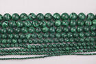 Malachite Gemstone Round Loose Spacer Beads 15.5'' Strand 9 Sizes U Choose