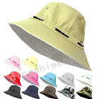 NEW 100% Cotton Unisex Bucket Hat Boonie Hunting Fishing Outdoor Sun Cap