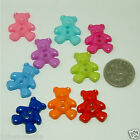 20 Teddy Bear Buttons, Plastic, Sew,Knitting,Crafts,UK