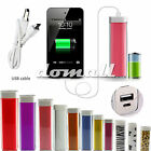 2600mAh External Portable Power Bank Pack Battery Charger For iPhone 4s 5s 4/5/6