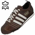 Adidas CHILE 62 women boys casual shoes trainers brown white leather OP NEW