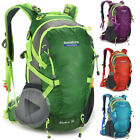 Men's Sport Travel Hiking Camping Backpack Rucksack Internal Frame + Rain cover