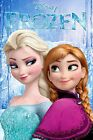 Disney Frozen Anna & Elsa A4 or A3 Laminated Poster Single Sided