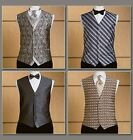 Vogue V8048 Sewing Pattern Men's Fitted Waist Coat Vest/Waistcoat Tie & Bow Tie