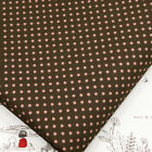 FQ 3mm CLASSIC POLKA DOT CIRCLE SPOT VINTAGE RETRO PRINT 100% Cotton Fabric VA36