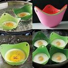 2x Random Color Silicone Poached Egg Kitchen Tool Breakfast Cook Tool New