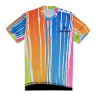Women Men's Cycling Bike Jersey Sport Running  3D T-Shirt Round neck Tops Tees